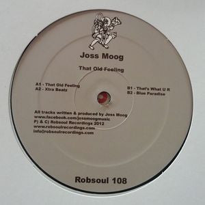 JOSS MOOG - That Old Feeling