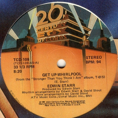 EDWIN STARR - Get Up Whirlpool