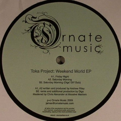 TOKA PROJECT - Weekend World EP
