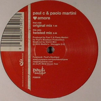 PAUL C & PAOLO MARTINI  - Amore