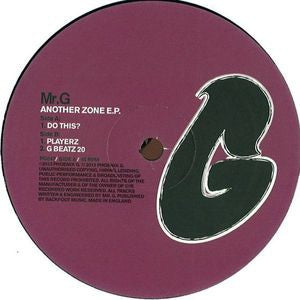 MR.G - Another Zone E.P.