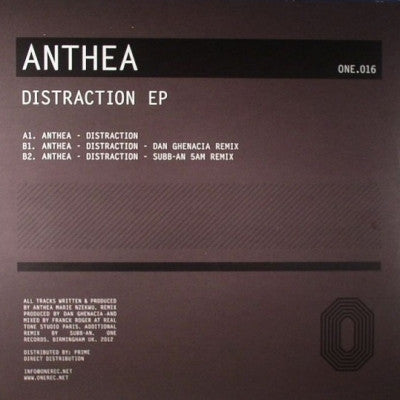 ANTHEA - Distraction EP