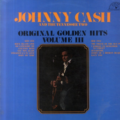 JOHNNY CASH - Original Golden Hits Volume III