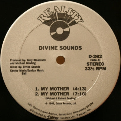 DIVINE SOUNDS - My Mother