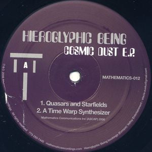 HIEROGLYPHIC BEING - Cosmic Dust E.P.