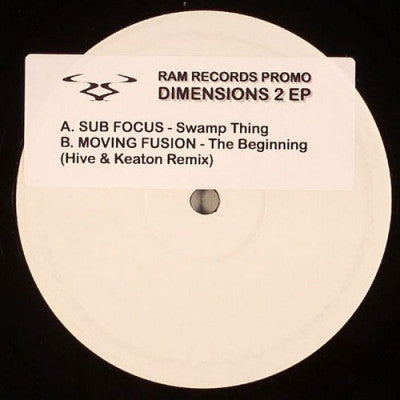 SUB FOCUS / MOVING FUSION - Swamp Thing /  The Beginning (Hive & Keaton Remix)