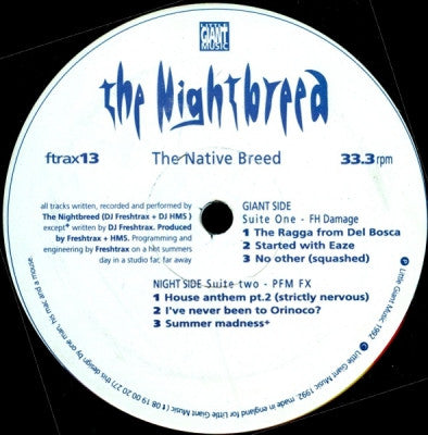 THE NIGHTBREED - The Native Breed