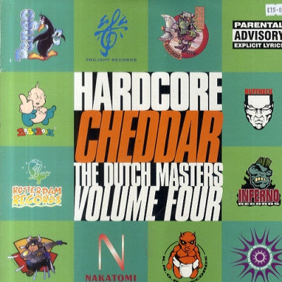 VARIOUS - Hardcore Cheddar - The Dutch Masters Volume Four