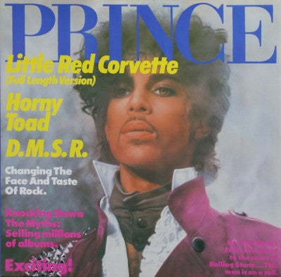 PRINCE - Little Red Corvette / Horny Toad / D.M.S.R.