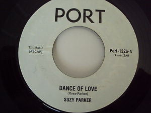 SUZY PARKER / FATHERS CHILDREN - Dance Of Love / Bok To Bach (Dance Of Love Instrumental)