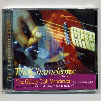 THE CHAMELEONS - Live At The Gallery Club, Manchester, 1982