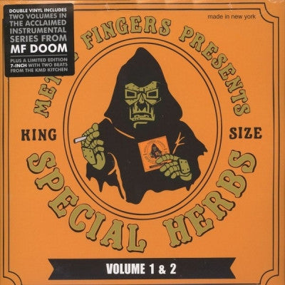 METAL FINGERS (MF DOOM)  - MF Doom Presents Special Herbs Volume 1 & 2