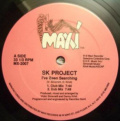 SK PROJECT - Your Love Is Taking Me Over