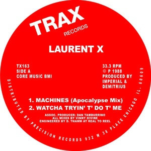 LAURENT X - Machines