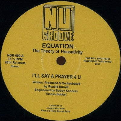 EQUATION - I'll Say A Prayer 4 U