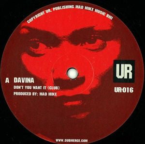 DAVINA - Dont You Want It