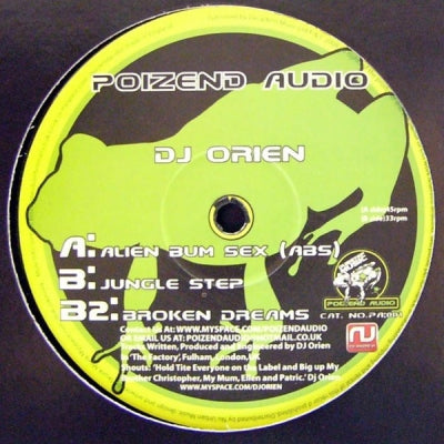 DJ ORIEN - Alien Bum Sex