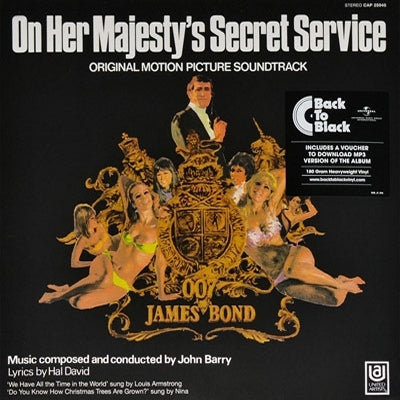 JOHN BARRY - On Her Majesty's Secret Service