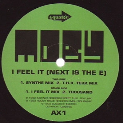 MOBY - I Feel It (Next Is The E)