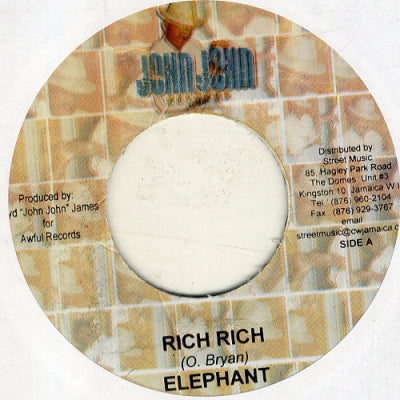ELEPHANT MAN - Rich Rich / The Mix