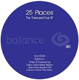 25 PLACES - The Tried-and-True EP