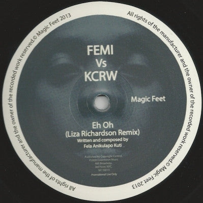 FEMI VS KCRW - Eh Oh / One Two