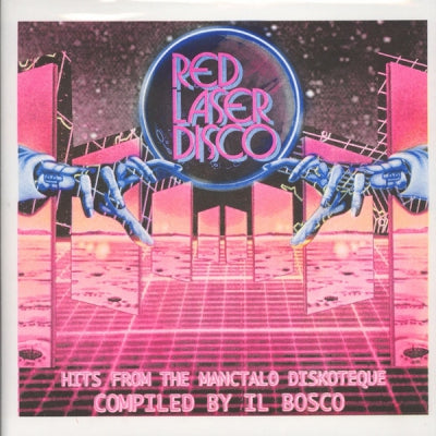 VARIOUS - Red Laser Disco - Hits From The Manctalo Diskoteque