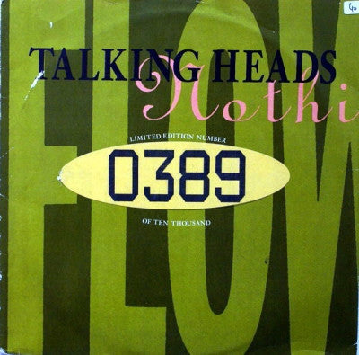 TALKING HEADS - (Nothing But) Flowers