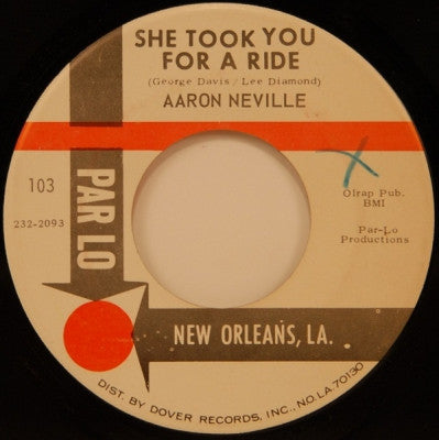 AARON NEVILLE - She Took You For A Ride / Space Man