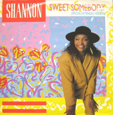 SHANNON - Sweet Somebody / Give Me The Music
