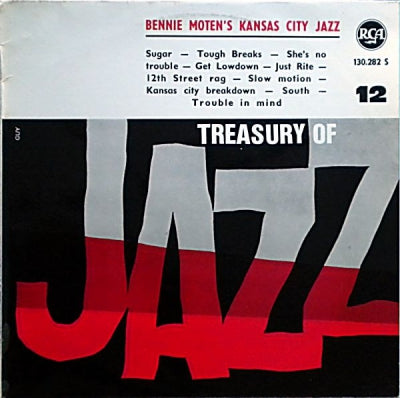 BENNIE MOTEN'S KANSAS CITY JAZZ - Treasury Of Jazz N° 12