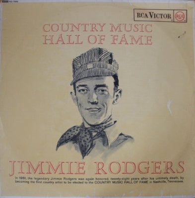 JIMMIE RODGERS - Country Music Hall Of Fame