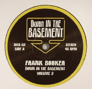 FRANK BOOKER / DICKY TRISCO - Down In The Basement Volume 3