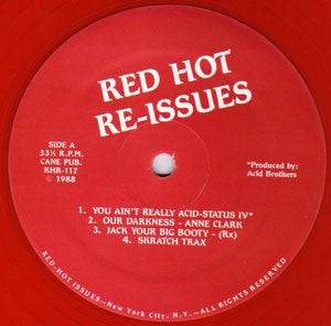 VARIOUS - Red Hot Re-Issues