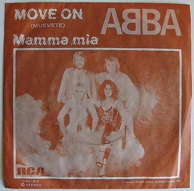 ABBA - Move On / Mama Mia
