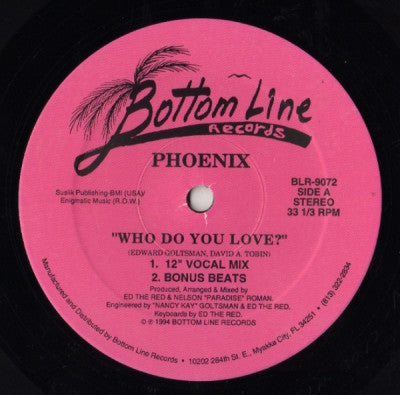 PHOENIX - Who Do You Love?