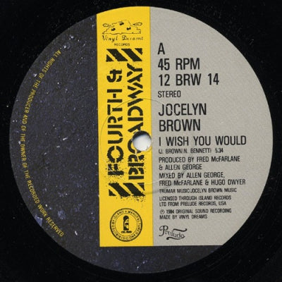JOCELYN BROWN - I Wish You Would
