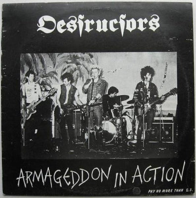 DESTRUCTORS - Armageddon In Action