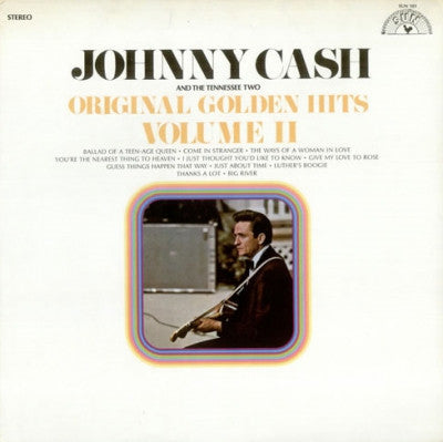 JOHNNY CASH - Original Golden Hits Volume II