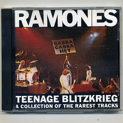 RAMONES - Teenage Blitzkrieg - A Collection Of The Rarest Tracks