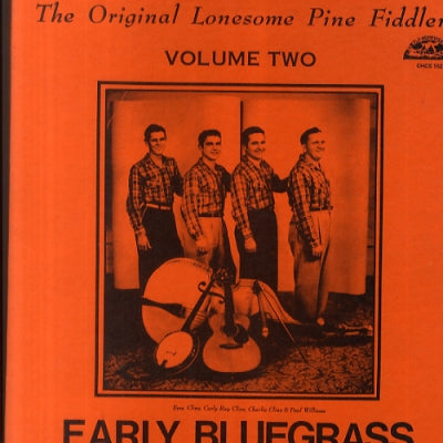 ORIGINAL LONESOME PINE FIDDLERS - Early Bluegrass Volume 2