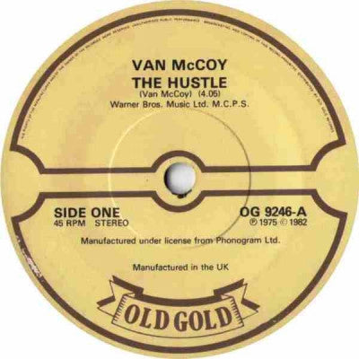 VAN MCCOY - The Hustle / The Shuffle