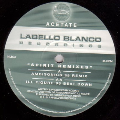 ACETATE - Spirit (Remixes)