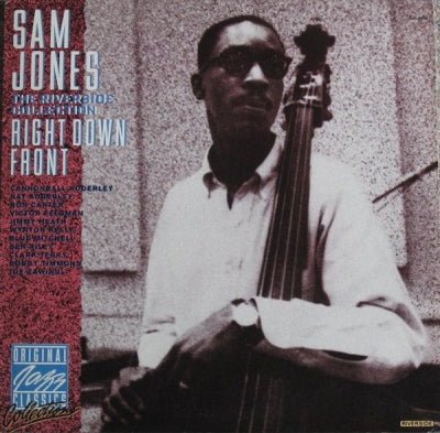 SAM JONES - Right Down Front - The Riverside Collection
