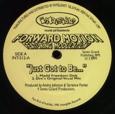 FORWARD MOTION FEATURING MODULATION - Just Got To Be