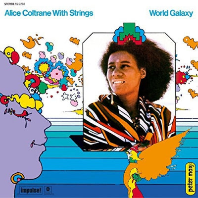 ALICE COLTRANE WITH STRINGS - World Galaxy