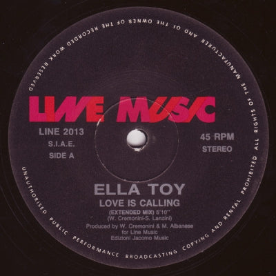 ELLA TOY - Love Is Calling