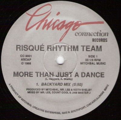 RISQUE RHYTHM TEAM - More Than Just A Dance