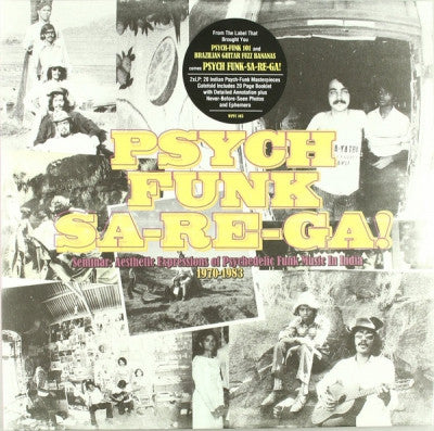VARIOUS ARTISTS - Psych Funk Sa-Re-Ga! (Seminar: Aesthetic Expressions Of Psychedelic Funk Music In India 1970-1983)