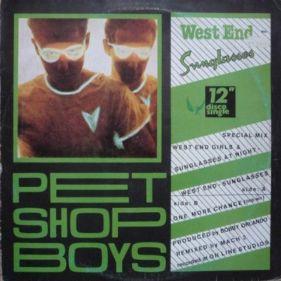 PET SHOP BOYS - West End-Sunglasses / One More Chance
